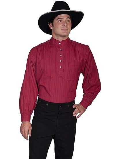 Victorian Mens Suits & Coats Natural Old Fashioned Railroader Shirt  AT vintagedancer.com
