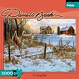 Darrell Bush Evening Run 1000 Piece Jigsaw Puzzle