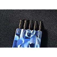 Ostart 5x2 Way Nail Art Tool Manicure Pedicure Paint Dotting Pen - Blue