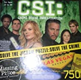 CSI: Crime Scene Investigation, 750 Piece Mystery Puzzle, Everybody Loathes Somebody Sometimes