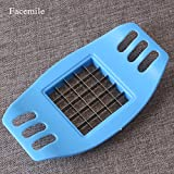 Generic 1PCS Kitchen Accessories Stainless Steel Vegetable Potato Slicer Cutter Chopper Chips Making Cutter Tool Fruit & Vegetable Tools