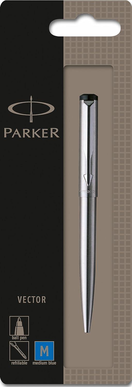 Parker - Bolígrafo de punta de bola (acero inoxidable)