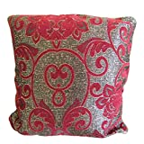 The Fancy Mart Red & Grey Designer Cushion Cover - Set Of 5 Pcs Style Code - CC-59