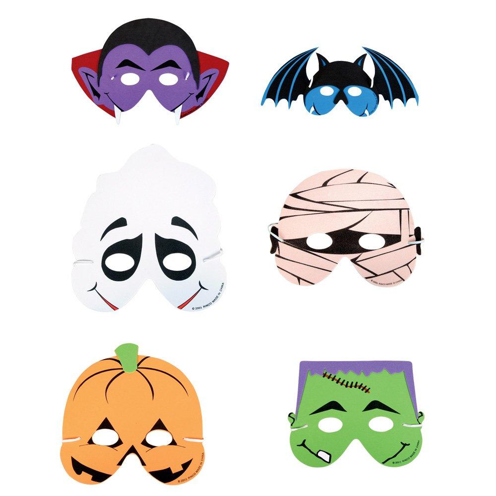 Foam Halloween Masks - 12pk $7...