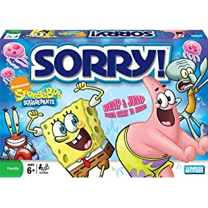 Click to buy The game of Sorry: Spongebob Squarepants Edition from Amazon!