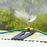 Generic D : Garden Sprinkler Spray Nozzle Adjustable Misting Hose Connector 360 Degrees Rotating Sprayer Sprinkler...