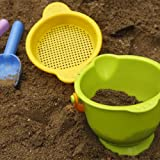 Hape - Sand & Sun - Beach Basics - Bucket, Sifter, Rake and Shovel