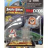 Angry Birds Star Wars Telepods Series 2 Wicket W. Warrick Bird & Shock Trooper Pig - B00LS2XYJS