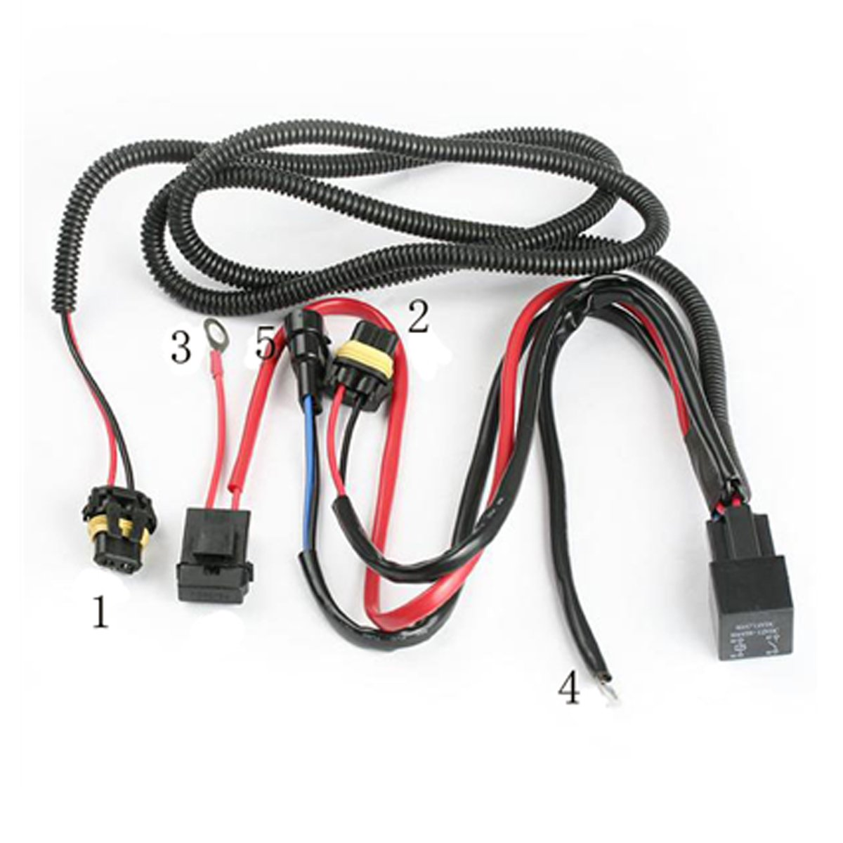 Headlight Wiring Relay Kit Howto Install Hid 2004 To 2016 Mazda 3 Forum And Mazdaspeed Forums