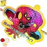 Rakhis Online - Spiderman Light Rakhi With Chocolate Gift Box