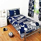 Tottenham Hotspur Official Patch Double Duvet Cover Set