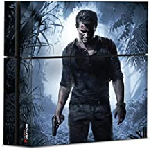 Controller Gear Uncharted 4 A Thief's End - PS4 Console Skin - Officially Licensed PlayStation