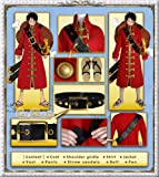 One Piece: Film Z - Monkey D. Luffy Cosplay Costume [Deluxe Set]
