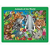 The Learning Journey 48 pc Lift & Discover Jigsaw Puzzle Animals of the World
