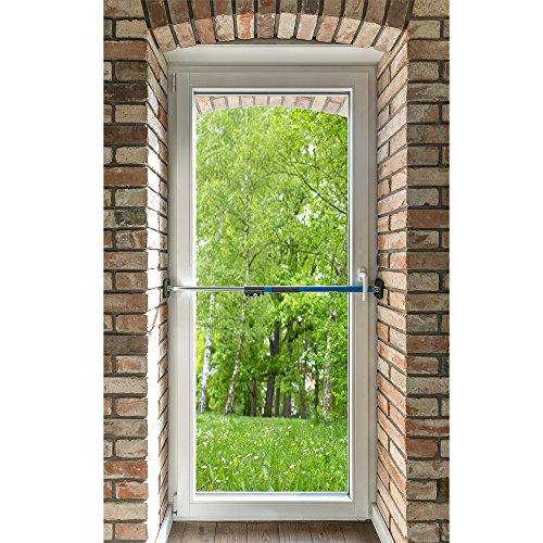 Sicherungsstange Fenstersicherung Türsicherung Einbruchschutz 199-375cm - 5