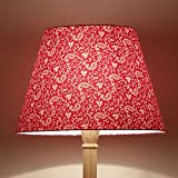 Craftter Traditional KERI DESIGN PINK Colour FABRIC FLOOR Lamp Shade (CWFLS-30)