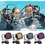 Alcoa Prime Underwater Scuba Diving Lens Filter Protective For GoPro Hero 4/3+ Camera