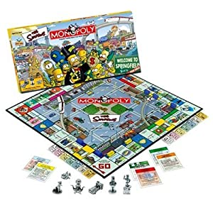 Click to buy Simpsons Monopoly (USAopoly version) from Amazon!