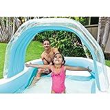 Intex Family Cabana Swim Center Pool for Ages 3+, 122 x 74 x 51