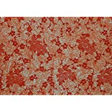 BDPP RED AND ORANGE PRINT ON WHITE BASE PREMIUM WRAPPING PAPERS (PACK OF 10)