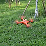 Gptoys H2O Aviax Waterproof Drone 3D Eversion 6 Axis Gyro Headless Mode 2.4GHz 4CH LCD RC Quadcopter Support DIY (orange)
