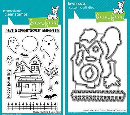 Lawn Fawn Happy Haunting Stamps and Dies
