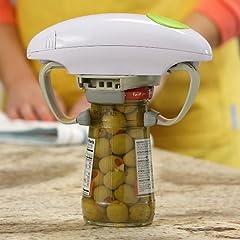 Robotwist Automatic, Adjustable Easy Open Jar Opener
