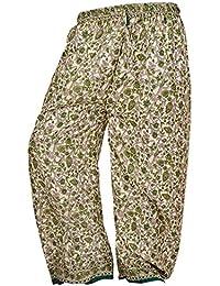 Boho Multi Color Over Waist/Wide Leg Long Yoga Palazzo Pants