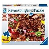Ravensburger Chocolate Overload Large Puzzle, Multi Color (300 Pieces)
