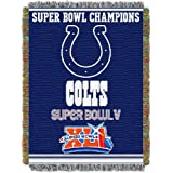 Northwest Indianapolis Colts Super Bowl V Commerative Throw