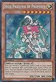 Yu-Gi-Oh! - High Priestess of Prophecy (REDU-EN020) - Return of the Duelist - 1st Edition - Secret Rare