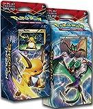 BOTH Pokemon XY8 BREAKthrough Theme Decks RAICHU & NOIVERN !! - TCG English Card Game
