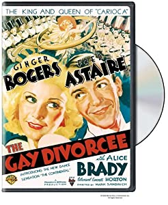 """Cover of """"The Gay Divorcee"""""""