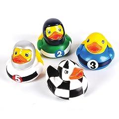 12 Race Car Rubber Ducks