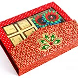 Ghasitaram Gifts Chocolates - Pink Designer Chocolate Hamper With 4 Floaters