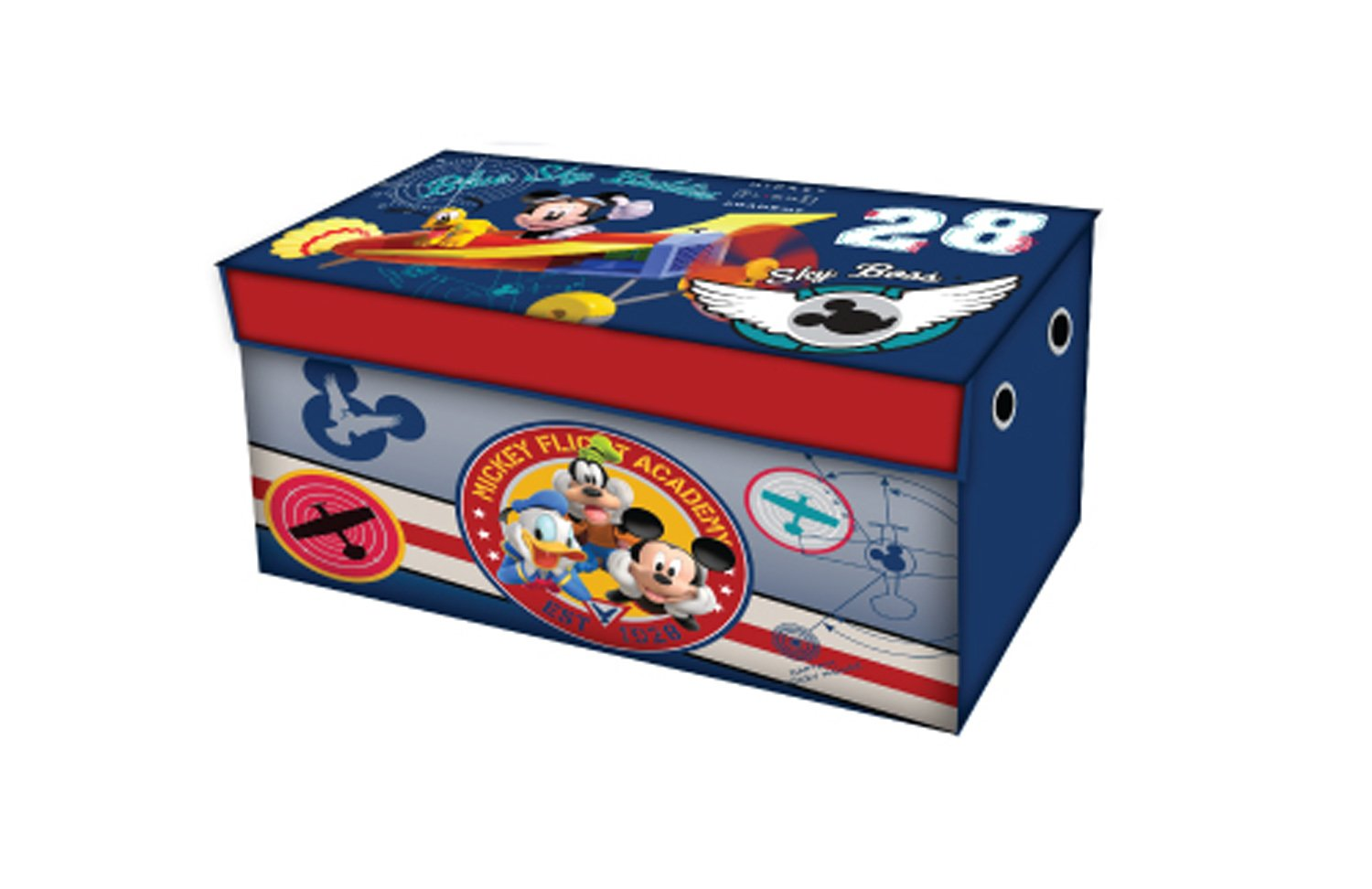 Storage Organizer Toy Box Disney Frozen Playroom Bedroom: Mickey Mouse Toy Box Kids Storage Childrens Playroom