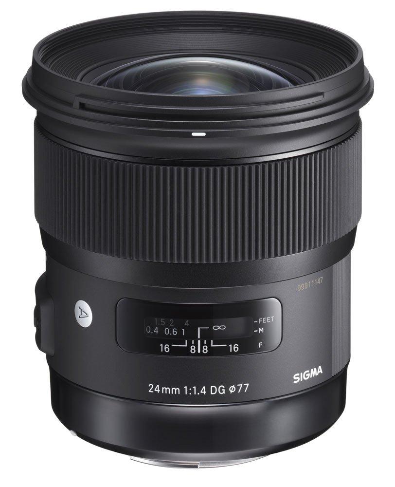 Grandangolo fisso Sigma 24mm f/1.4 DG HSM I A