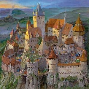 Die Ritterburg im Mittelalter - Puzzle: Amazon.de: Heinz