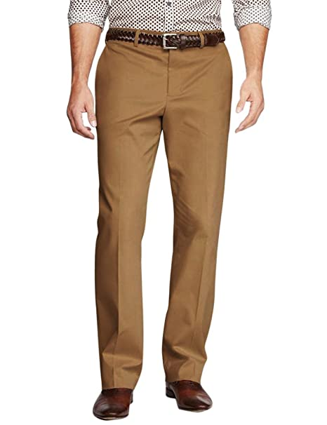 Match Men's Classic Straight-Fit Dress Pants(32W x 32L, 8035 Khaki)