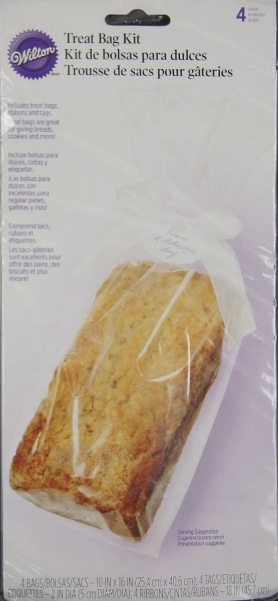Wilton Clear Medium Party Cakes Bread Pies Sweets Pops Gifts Treats Favors Bags For Fast Shipping Baking Accs. & Cake Decorating Home & Garden