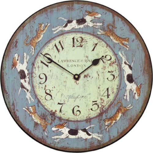 Roger Lascelles Play Wall Clock