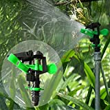 Generic Green : New Garden Plant Flowers Watering Drippers Connector Rotating Water Sprinkler Spray Nozzle Agricultural...