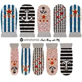 Winstonia Designer Nail Wrap Strips Sail Away With Me