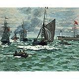Vitalwalls Landscape Painting (Landscape-457-45, Canvas Print, 45 Cm X 36.7 Cm)