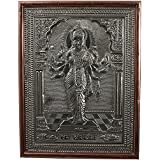 Kapasi Handicrafts German Silver Goddess Sadhi Wall Hanging / Wall Decor / Wall Piece (25 Cm X 2.5 Cm X 33 Cm,...