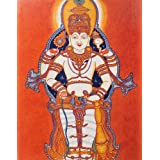 "Dolls Of India ""Mahavishnu"" Reprint On Paper - Unframed (38.10 X 29.21 Centimeters)"