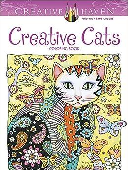 Creative Haven Creative Cats Coloring Book (Creative Haven ...