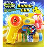 Bubbles Of Fun Battery Operated Bubble Gun And Bubble Solution