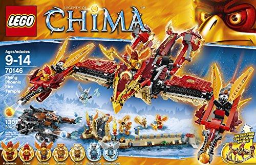 LEGO Chima 70146 Flying Phoenix Fire Temple Building Toy JungleDealsBlog.com