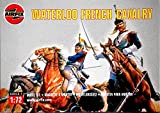 Airfix Set 01736 Waterloo French Cavalry (Cuirassiers) Plastic Toy Soldiers set in 1/72 scale.